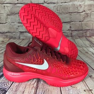 NIKE Air Zoom Cage 3 HC Red/Crimson Tennis shoes